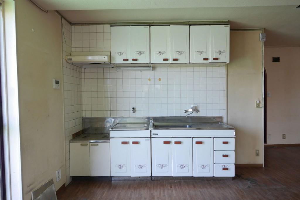 シティマンション国富 リノベーション前 キッチン