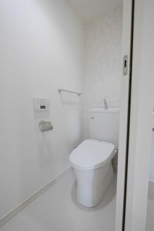 シティマンション国富 リノベーション完成写真 トイレ