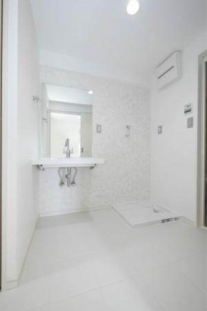 シティマンション国富 リノベーション完成写真 洗面所