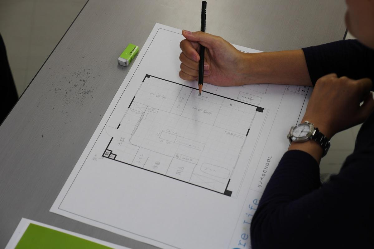 リノベSCHOOL!セミナー:「Before図面を見てイメージする力をつける」「0(ゼロ)からつくるプランニング実践」3