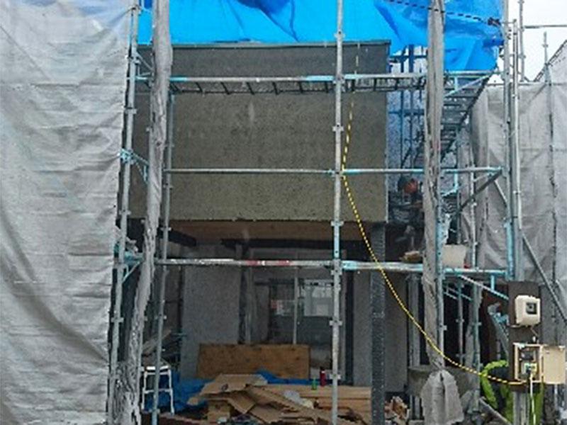 耐震補強で進化する「泉田の家」第4回 施工中見学会(リノベ中、まとめて見学会) 001