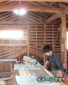 耐震補強で進化する「江並の家」リノベ施工中見学会